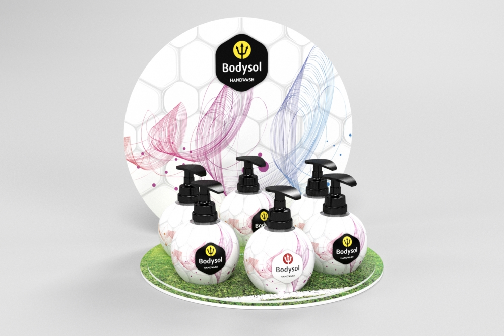 handwash wk display