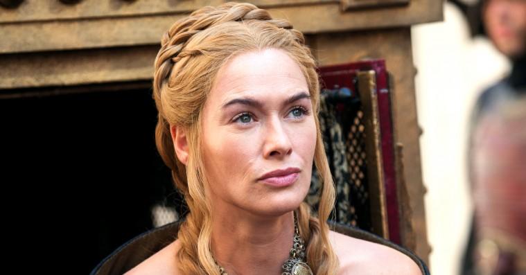 Fotoet viser Cersei Lannistar fra TV-serien Games of Thromes.