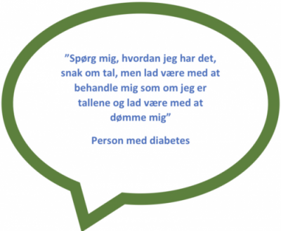 Hvordan sproget kan påvirke en diabetiker