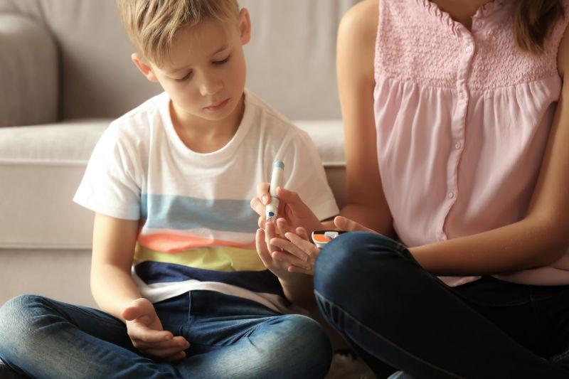 Børn og unge med diabetes type 1