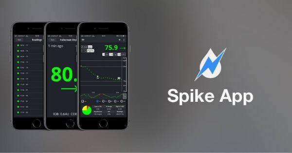 Spike app som Tobias bruger
