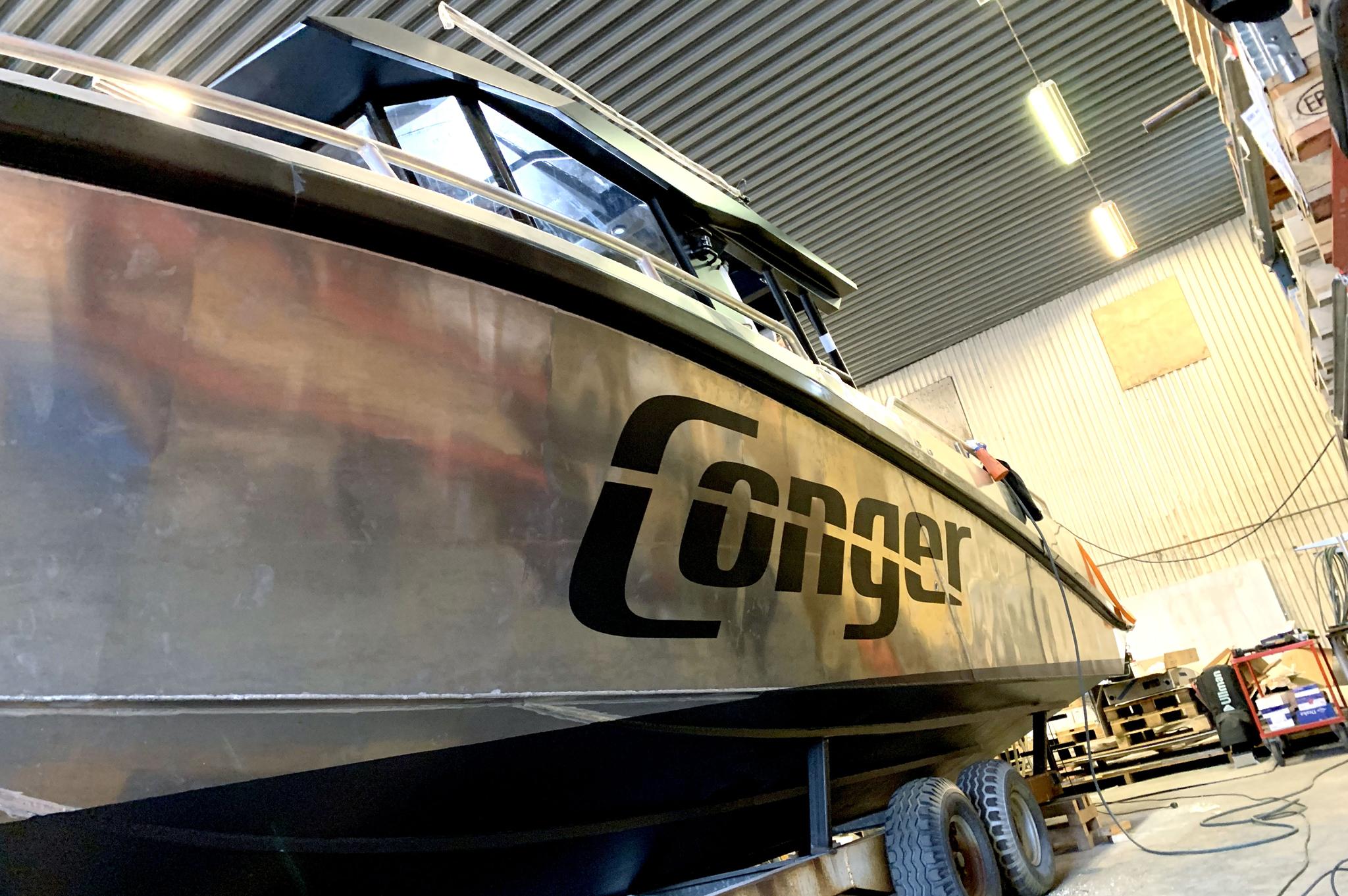 båt dekor dekaler conger