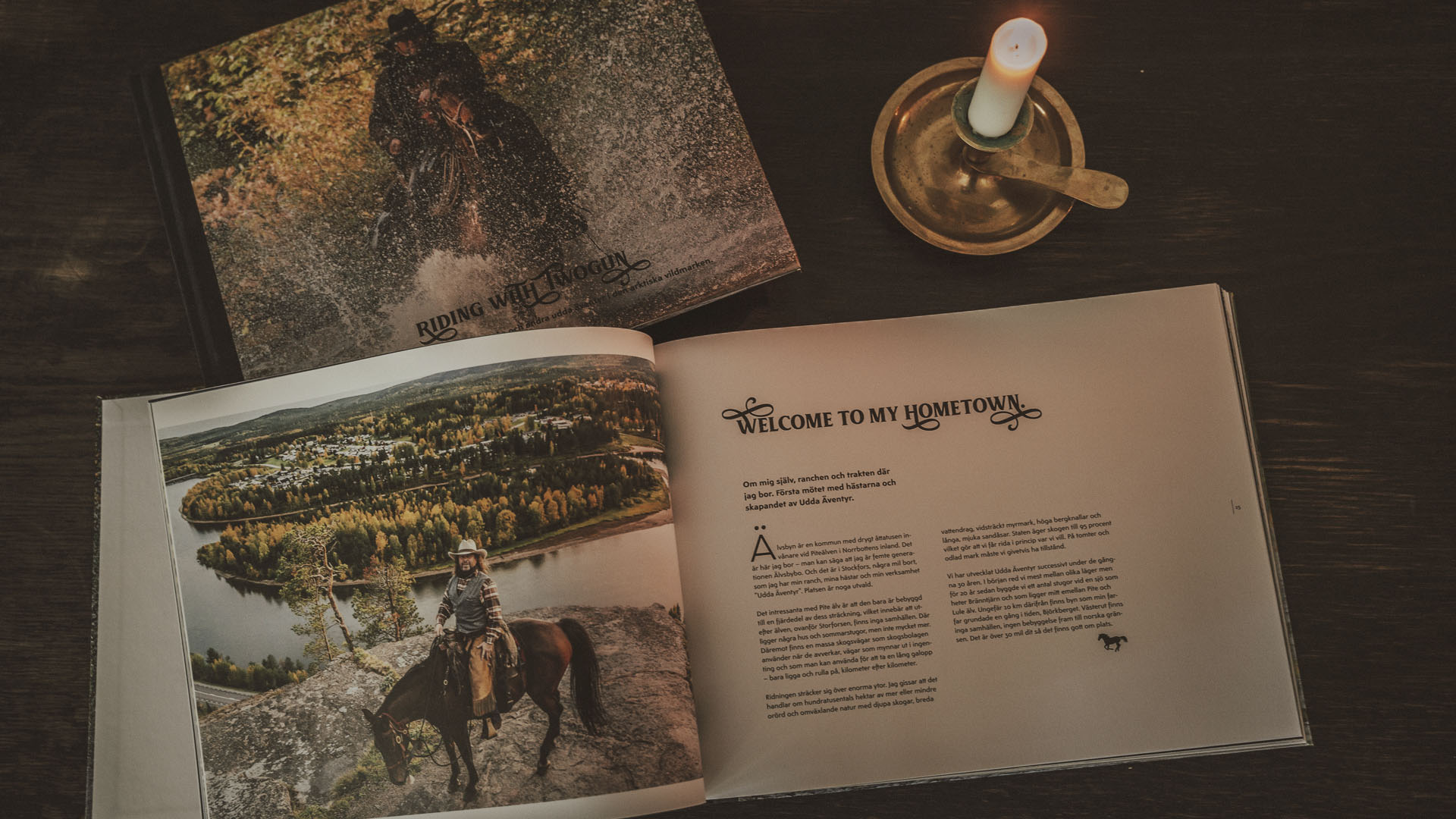 Riding with Twogun – the book –
