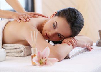 Beauty. Girl in the spa salon