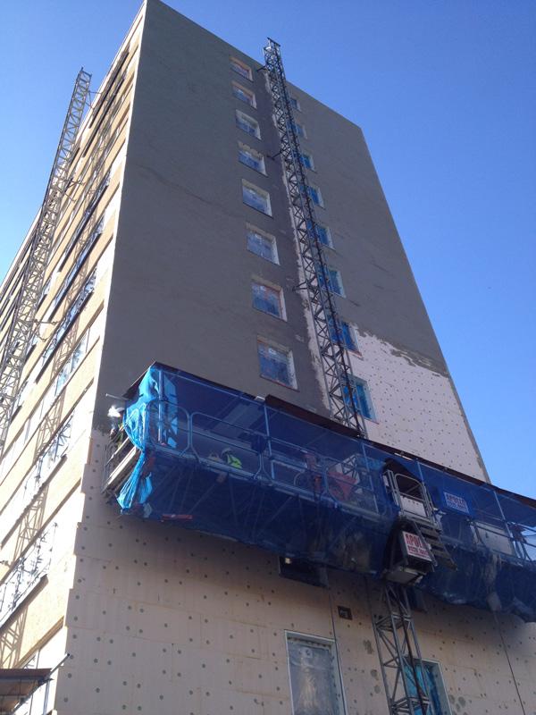 UK Rendering Tower Block Render