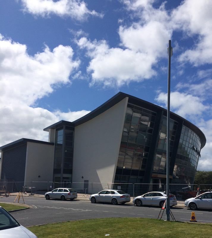UK Rendering Police Station Render