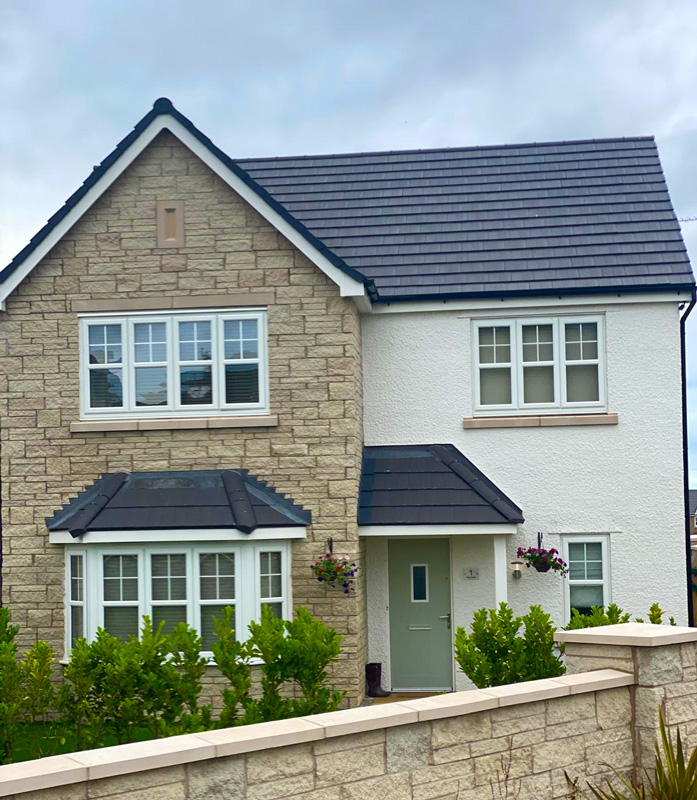 UK Rendering - Castle Green Homes