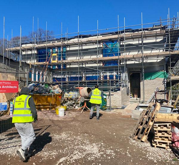 UK RENDERING - Projects underway