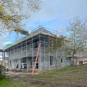 Chester Private Dwelling - Lime Rendering System