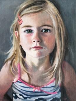 Ruth Molenhuis schilderij portret