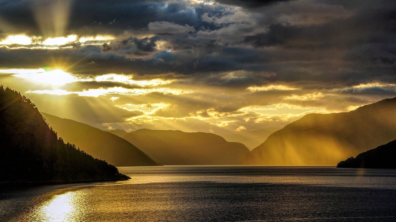 fjord, norway, sea