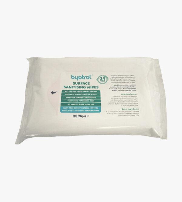 Byotrol Sanitising Wipes 100