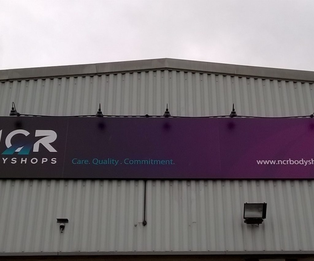 External Signage for NCR Bodyshops