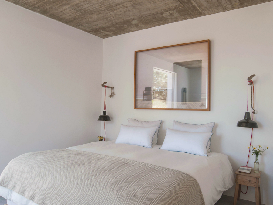 Pensão Agrícola, suite Muro