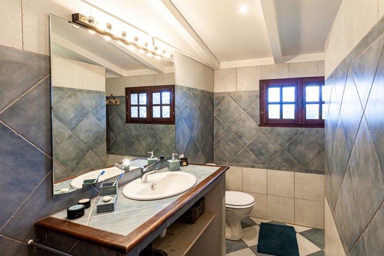 Chambres d'hôtes les Lavandes en Cévennes salle de bain