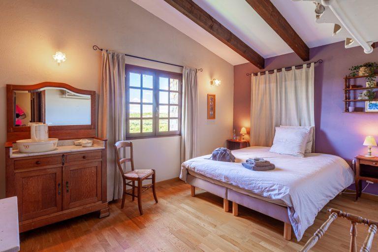 Chambres d'hôtes les Lavandes en Cévennes chambre