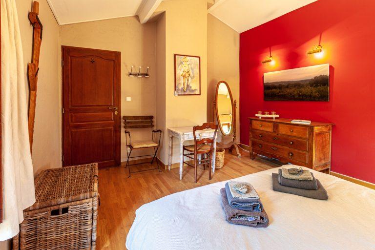 Chambres d'hôtes les Vignes en Cévennes la chambre
