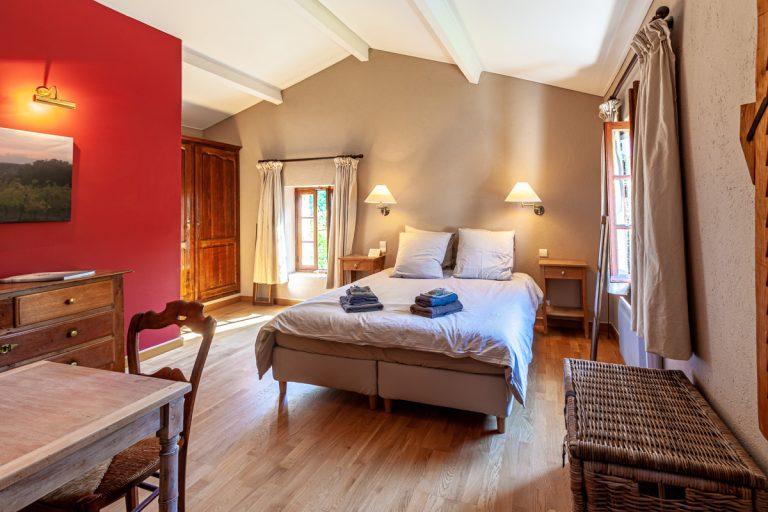 Chambres d'hôtes les Vignes en Cévennes la chambre de face