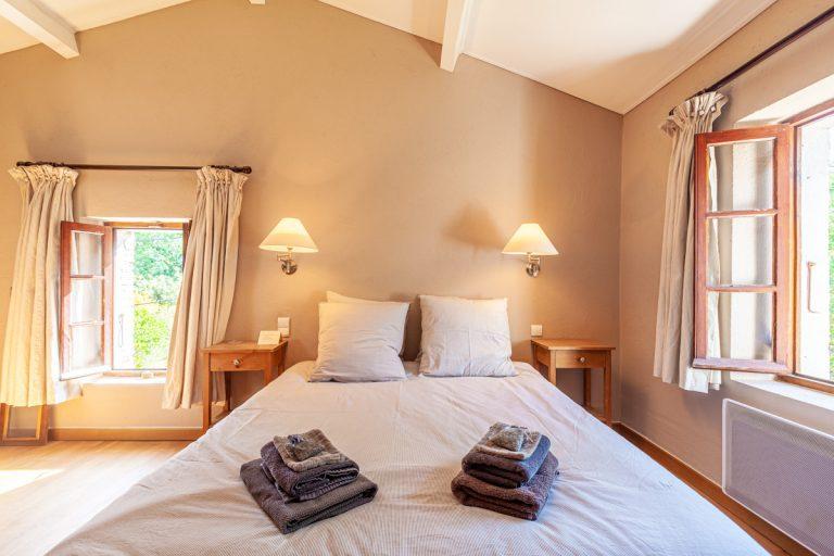 Chambres d'hôtes les Vignes en Cévennes la chambre luxe