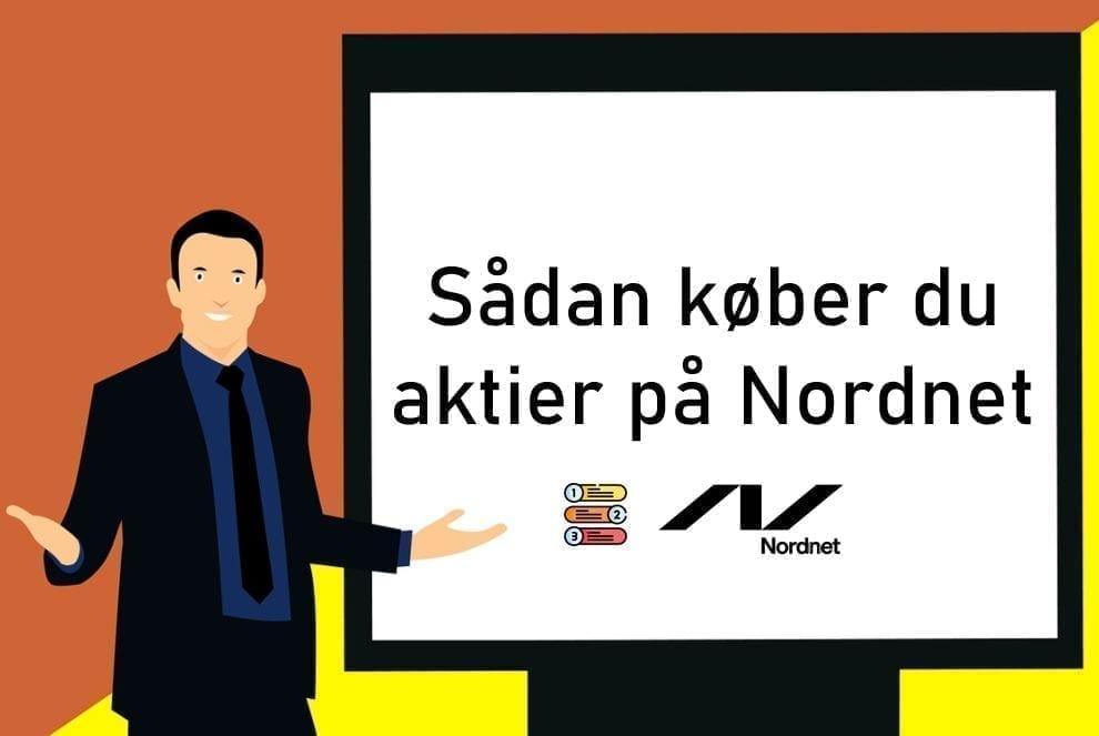 Sådan køber du aktier på Nordnet