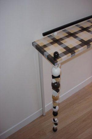 houten sidetable