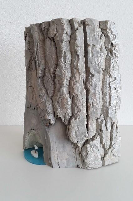 hout sculptuur baai