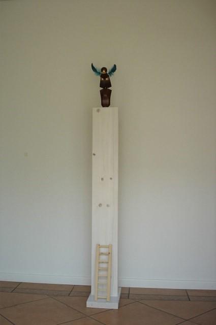 sculpture-Diving-large-art-work