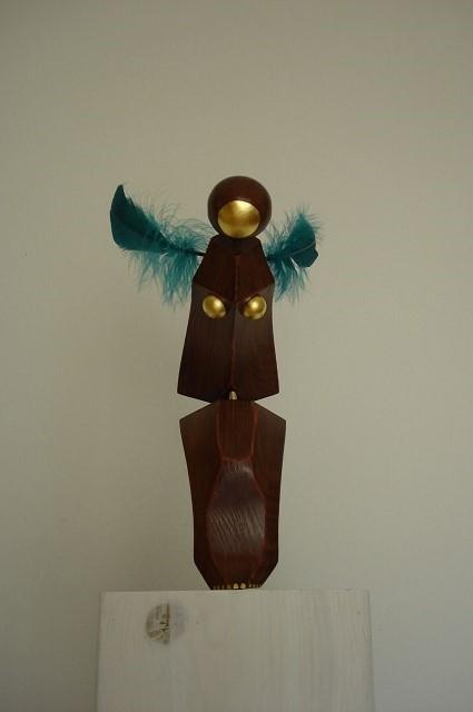 sculpture-Diving-wood-art-design