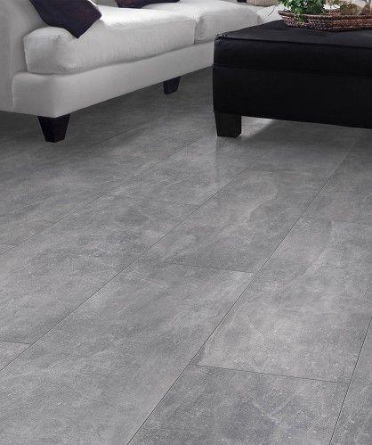 Visio grande grijs beton look tegel laminaat 35456