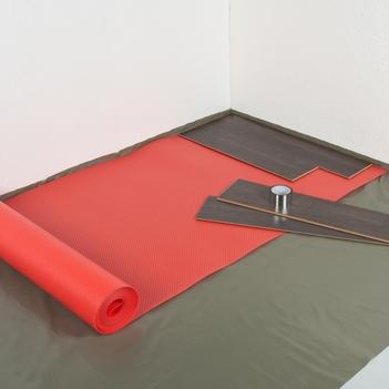 Isoheat rood 2mm speciaal voor vloerverwarming