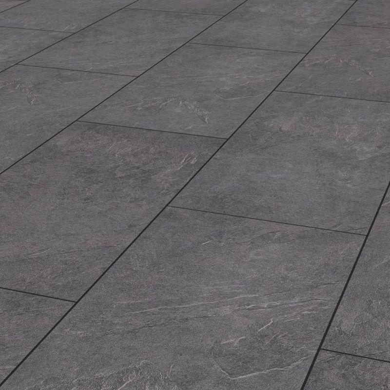 Krono Original Stone Impression Tegel Laminaat zwart 8mm 8475
