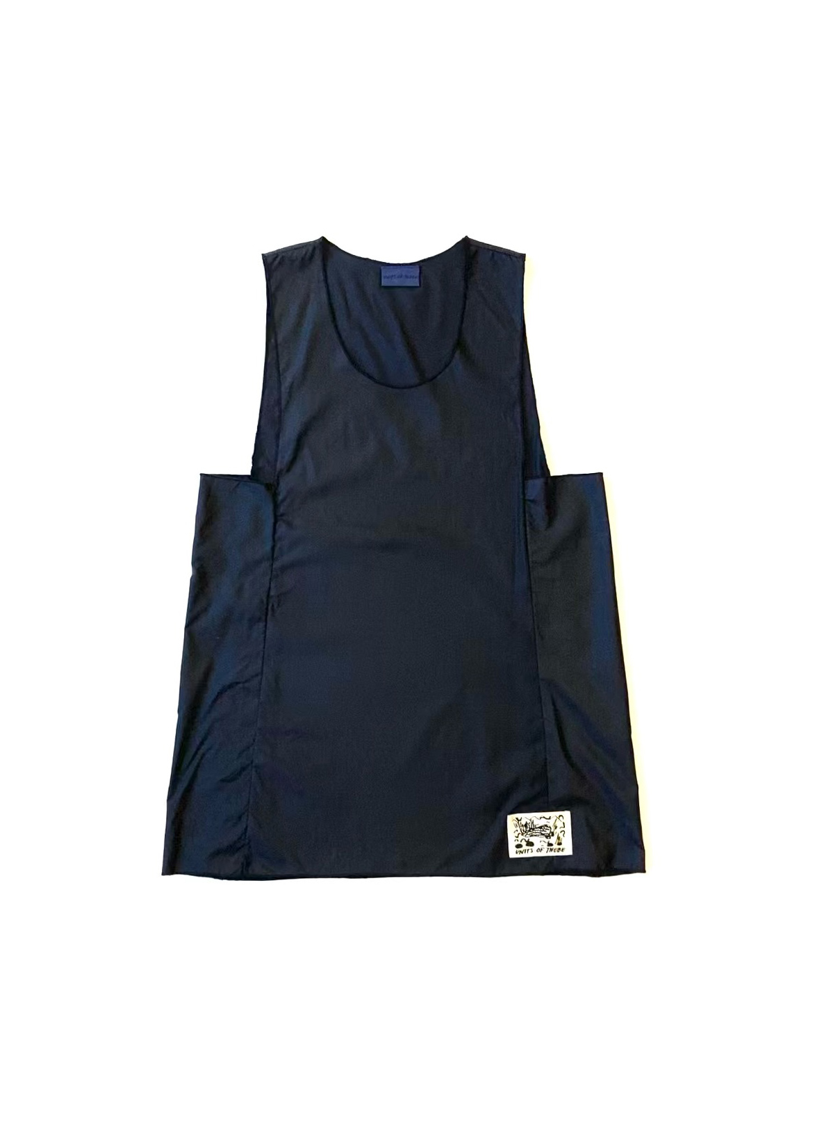 Cube Top Navy Front