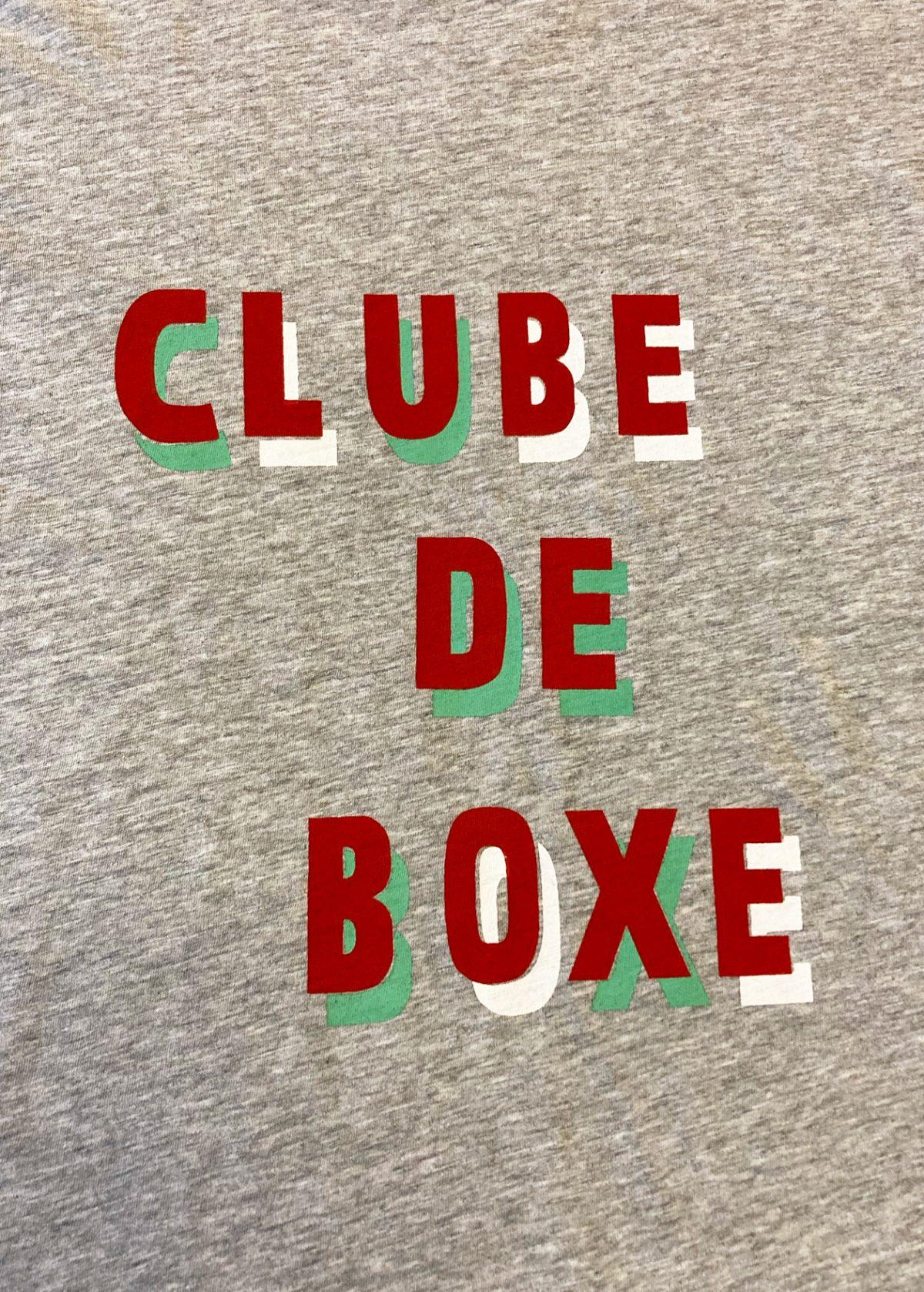 Clube de boxe T-shirt print