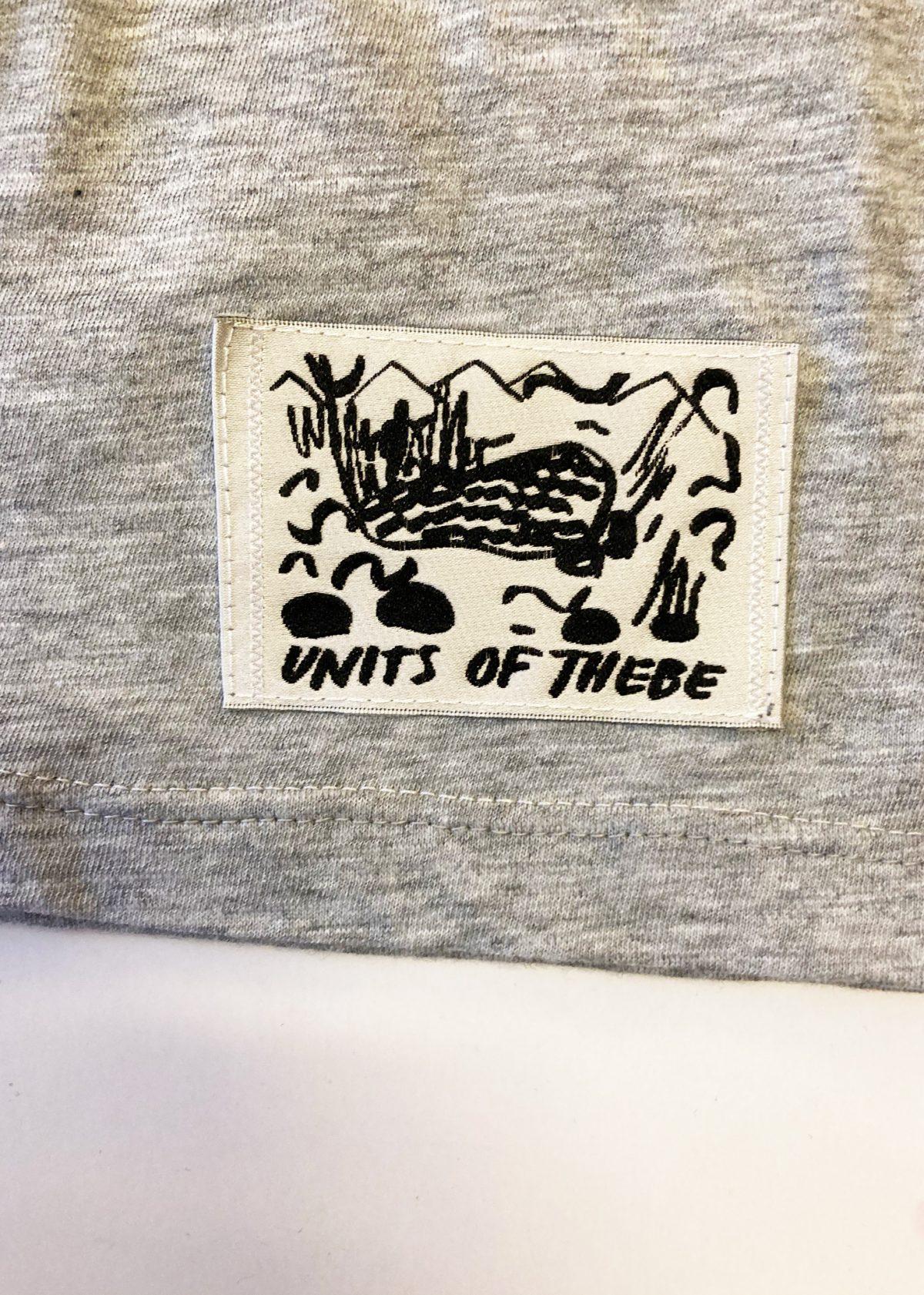 Clube de boxe T-shit label