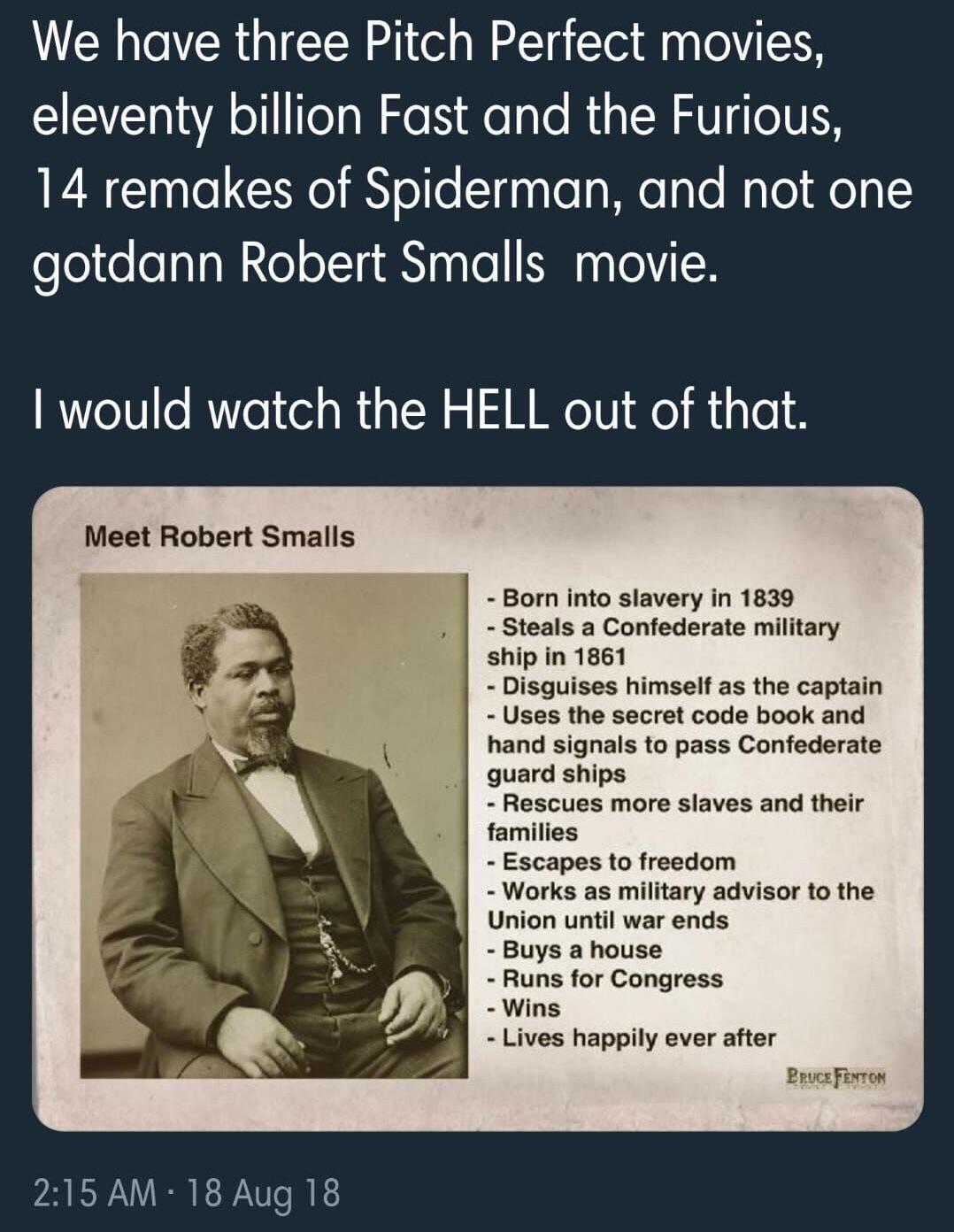 Robert Smalls Meme