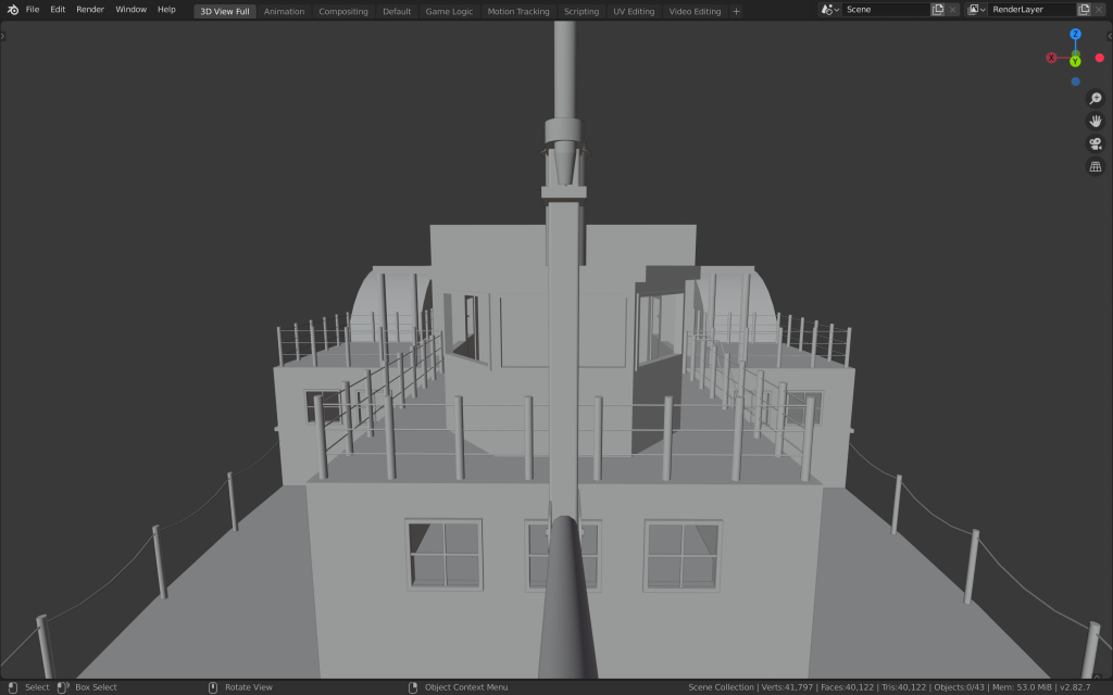 3D Model of the Planter - Bridge
