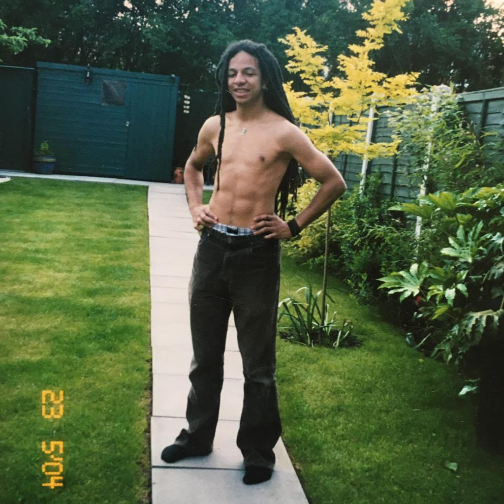 Me aged 21 with dreadlocks. Was this cultural appropriation?