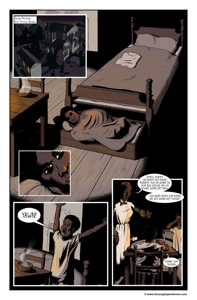 "Page 11 of my ""Robert Smalls: A Life Reclaimed"" graphic novel."