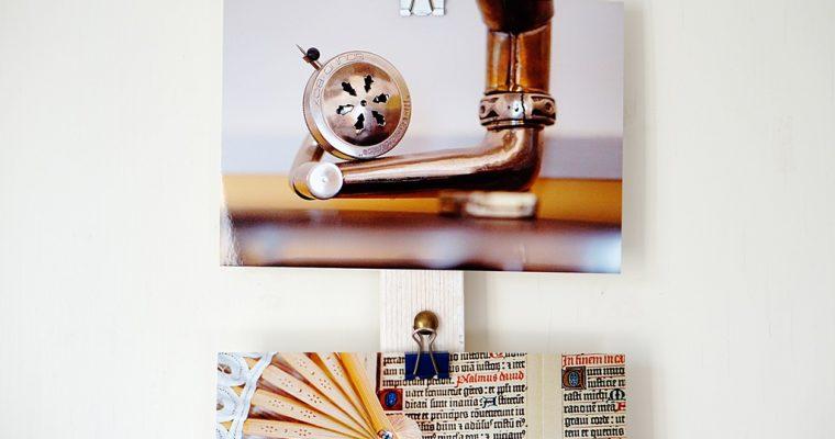 Flexible Bildaufhängung DIY