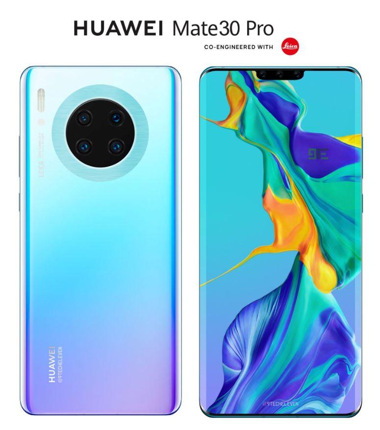Huawei Mate 30 kommer utan Google! [Uppdaterad]
