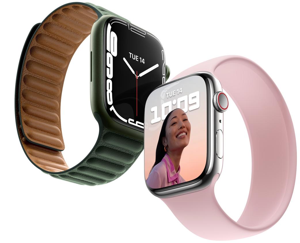 Nya Apple Watch Series 7(2021)