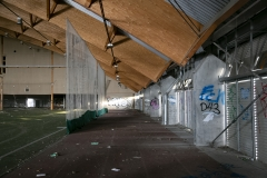 Den ikke særlig sporty sportshal (Danmark)