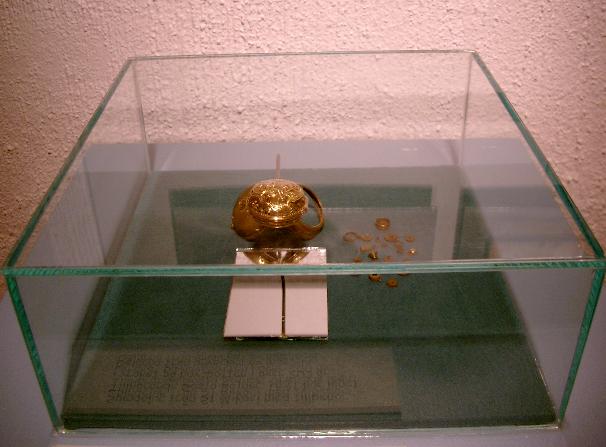 Ett av uren som bärgades från vraket StMikael som förliste 1747 i Åbo skärgård, tillhör Gösta Bojner.