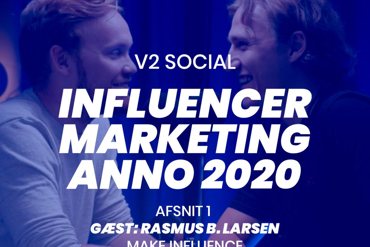 v2 social podcast med ludvig larsen 1 influencer marketing
