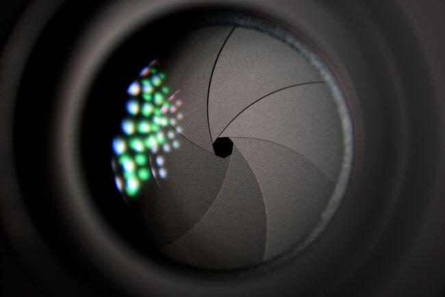 kamera indstillinger f-tal