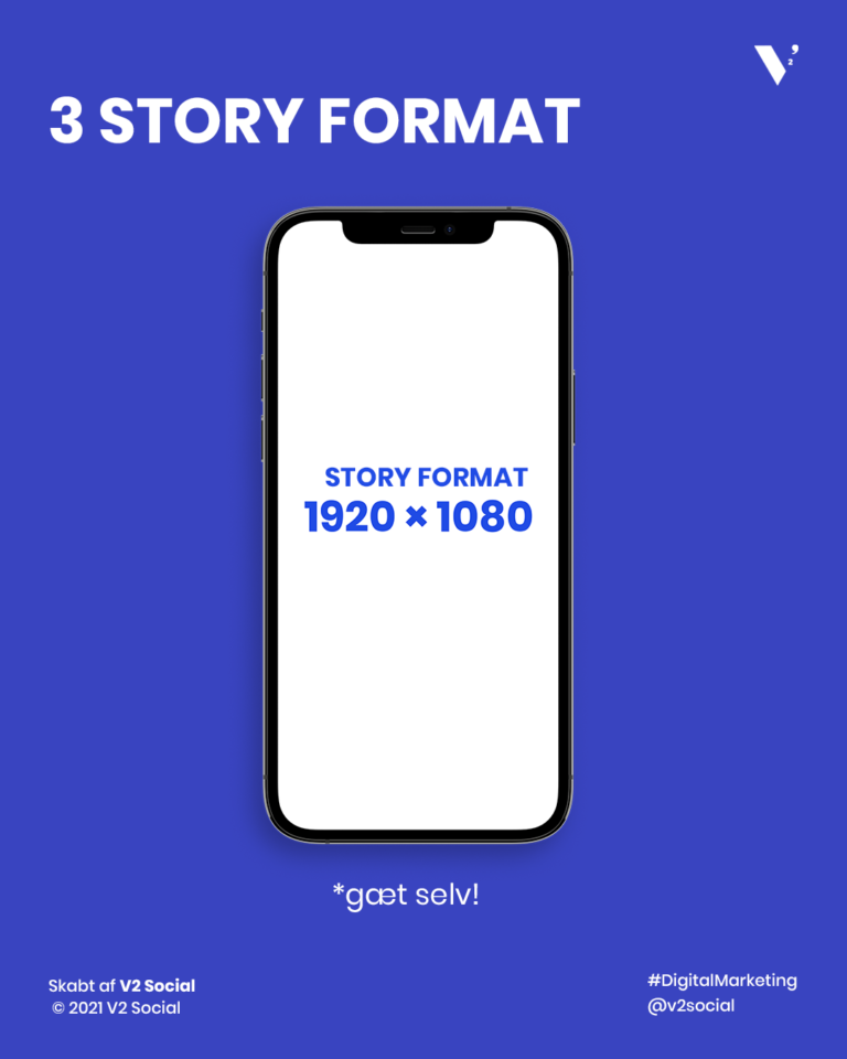 Højformat story format