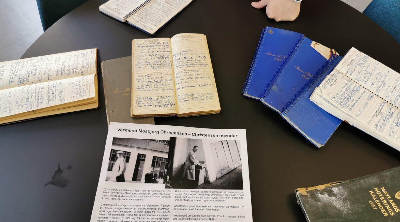 Kalendararnir hjá Christensen á framsýning