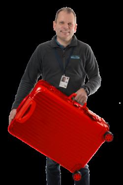 VALiZO direktør med kuffert