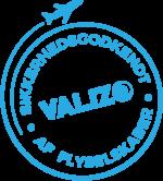 VALiZO er sikkerhedsgodkendt af flyselskaber