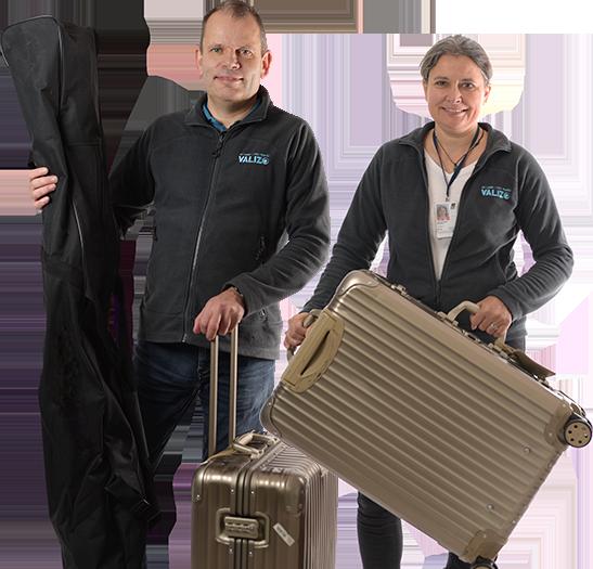 Ejerne af bagagefirmaet Valizo - Christian Kurir Andersen og Mette Bursell